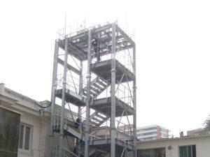 Torre entrenamiento para Bomberos