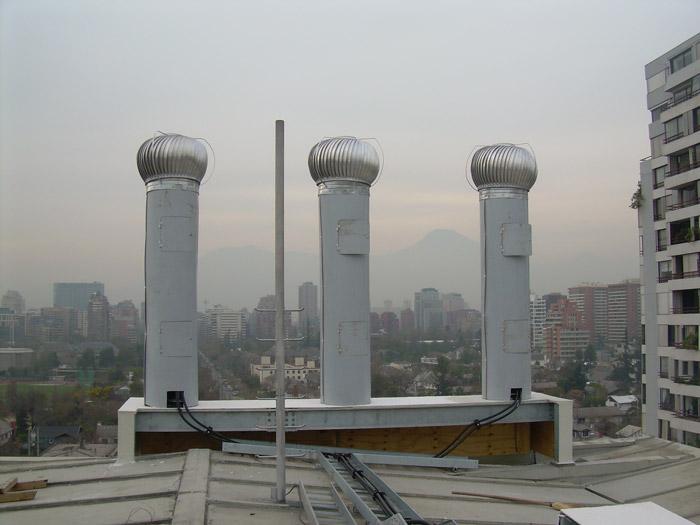 Soporte de Antenas Camufladas en Eólicos