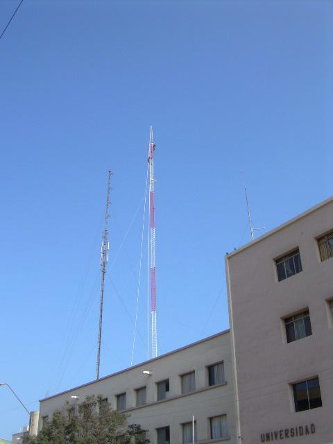 Torre de 36 metros en azotea