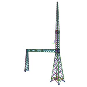 Estructuras altas para S/E eléctricas