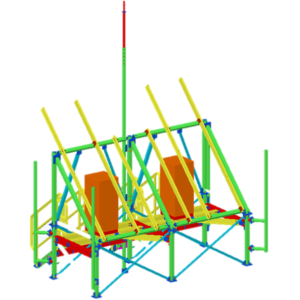 Ingeniería diseño, detallamiento y gestión de fabricación de estructuras fotovoltaicas para radio estaciones