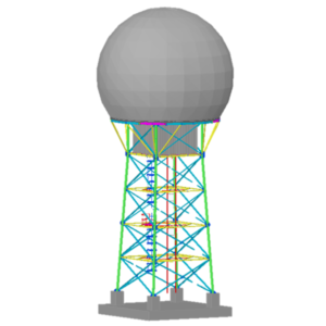 Torre Radar desarrollada para DGAC (BIM)