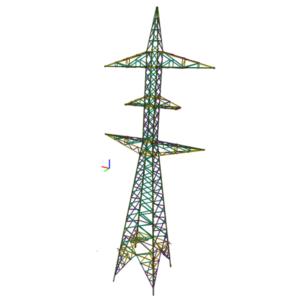 Torre de transmisión eléctrica
