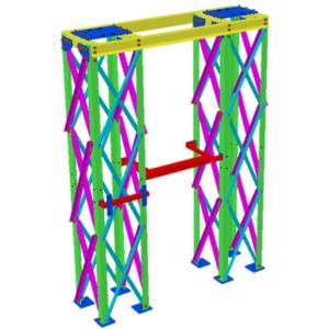 Ingeniería diseño estructuras bajas para S/E Eléctricas